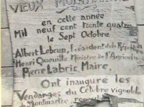 Tous au défilé des Vendanges de Montmartre – Samedi 13 octobre à 11h au pied des vignes