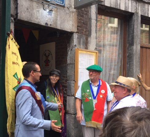 12 août 2018 – Inauguration du Consulat de Montmartre à Liège – Tout sur le 15 août en Outremeuse