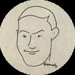 Jacques CATHY, dessinateur et chansonnier, troisième maire de la Commune Libre (1949-1990)