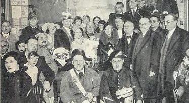 Le baptême montmartrois de Jacqueline TOZINY (3 décembre 1933)