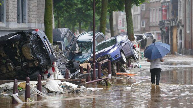 15 juillet 2021 – Inondations en Belgique : Solidarité avec nos amis de Liège