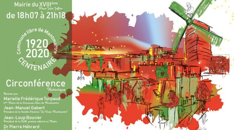 La mairie du 18ème accueille la Grande Soirée du Centenaire – mardi 25 février à partir de 18h30